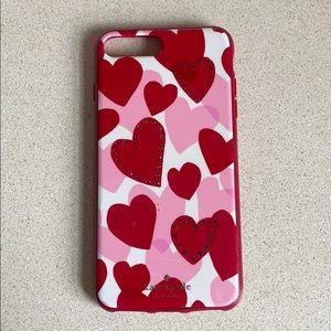 Kate spade iPhone 8plus/7plus case